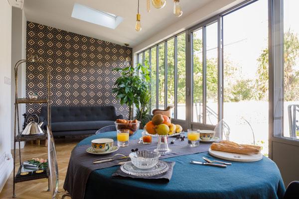petit déjeuner - tranquillité - gourmandise - plaisir - découvrir Bordeaux